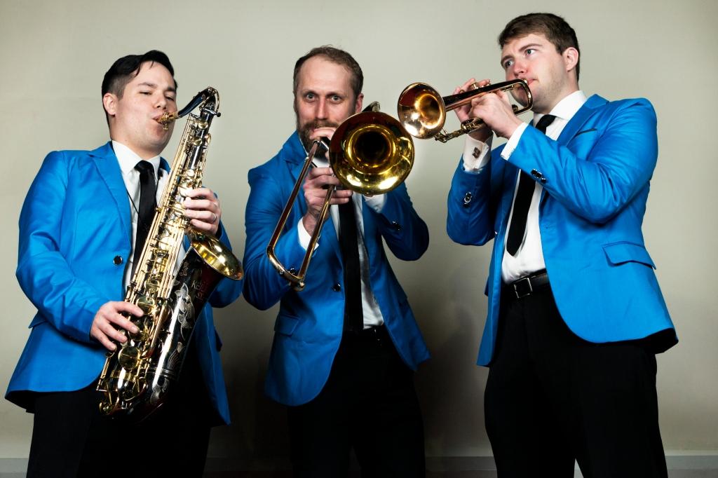 The Chancellors Band Horn Section Brian Bermudez Jamie Paulson Carey Rayburn