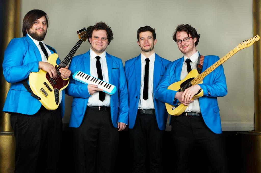 The Chancellors Band Rhythm Section Jake Sele Keyboards Tristan Gianola Guitar Nick Lonien Bass Joe Eck Drum