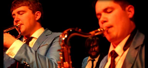 Nick Lonien Bass Brian Bermudez Sax Carey Rayburn Trumpet
